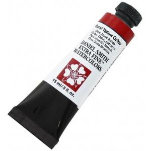 Daniel Smith Extra Fine™ Watercolor 15ml Burnt Yellow Ochre: Red/Pink, Tube, 15 ml, Watercolor, (model 284600170), price per tube