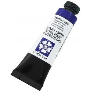 Daniel Smith Extra Fine™ Watercolor 15ml Imperial Purple; Color: Purple; Format: Tube; Size: 15 ml; Type: Watercolor; (model 284600174), price per tube