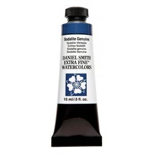 Daniel Smith Extra Fine™ Watercolor 15ml Sodalite Genuine: Blue, Tube, 15 ml, Watercolor, (model 284600179), price per tube