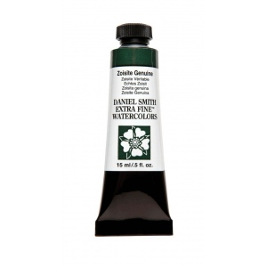 Daniel Smith Extra Fine™ Watercolor 15ml Zoisite Genuine; Color: Green; Format: Tube; Size: 15 ml; Type: Watercolor; (model 284600180), price per tube