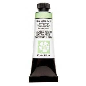 Daniel Smith Extra Fine™ Watercolor 15ml Rare Green Earth: Green, Tube, 15 ml, Watercolor, (model 284600181), price per tube