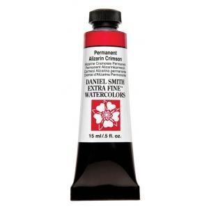 Daniel Smith Extra Fine™ Watercolor 15ml Permanent Alizarin Crimson; Color: Red/Pink; Format: Tube; Size: 15 ml; Type: Watercolor; (model 284600185), price per tube
