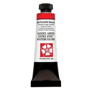 Daniel Smith Extra Fine™ Watercolor 15ml Red Fuchsite Genuine: Red/Pink, Tube, 15 ml, Watercolor, (model 284600189), price per tube