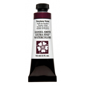 Daniel Smith Extra Fine™ Watercolor 15ml Perylene Violet: Purple, Tube, 15 ml, Watercolor, (model 284600201), price per tube