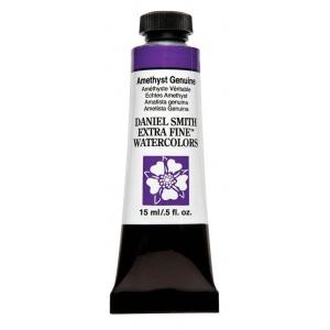 Daniel Smith Extra Fine™ Watercolor 15ml Amethyst Genuine; Color: Purple; Format: Tube; Size: 15 ml; Type: Watercolor; (model 284600203), price per tube