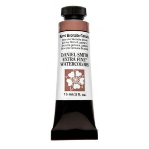 Daniel Smith Extra Fine™ Watercolor 15ml Burnt Bronzite Genuine; Color: Brown; Format: Tube; Size: 15 ml; Type: Watercolor; (model 284600204), price per tube