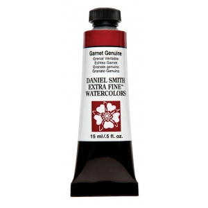 Daniel Smith Extra Fine™ Watercolor 15ml Garnet Genuine: Red/Pink, Tube, 15 ml, Watercolor, (model 284600205), price per tube