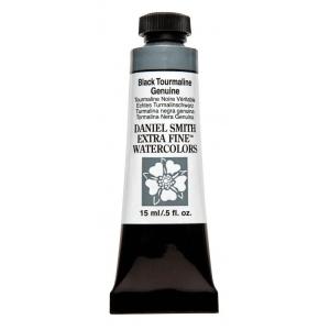 Daniel Smith Extra Fine™ Watercolor 15ml Black Tourmaline Genuine: Black/Gray, Tube, 15 ml, Watercolor, (model 284600207), price per tube