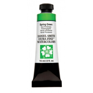 Daniel Smith Extra Fine™ Watercolor 15ml Spring Green: Green, Tube, 15 ml, Watercolor, (model 284600208), price per tube