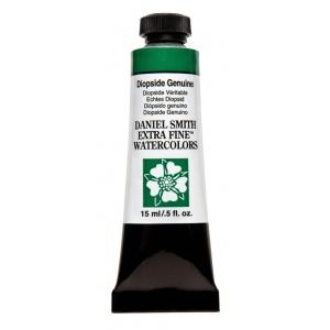 Daniel Smith Extra Fine™ Watercolor 15ml Diopside Genuine: Green, Tube, 15 ml, Watercolor, (model 284600210), price per tube