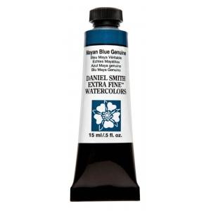 Daniel Smith Extra Fine™ Watercolor 15ml Mayan Blue Genuine: Blue, Tube, 15 ml, Watercolor, (model 284600211), price per tube