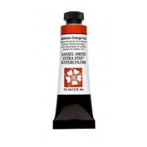 Daniel Smith Extra Fine™ Watercolor 15ml Cadmium Orange Hue; Color: Orange; Format: Tube; Size: 15 ml; Type: Watercolor; (model 284600220), price per tube