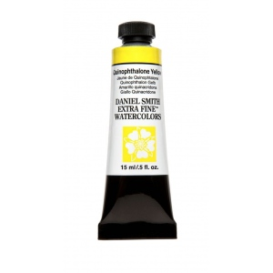 Daniel Smith Extra Fine™ Watercolor 15ml Quinophthalone Yellow: Yellow, Tube, 15 ml, Watercolor, (model 284600223), price per tube
