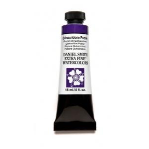 Daniel Smith Extra Fine™ Watercolor 15ml Quinacridone Purple: Purple, Tube, 15 ml, Watercolor, (model 284600225), price per tube