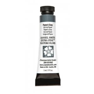 Daniel Smith Extra Fine™ Watercolor 5ml Payne's Gray; Color: Black/Gray; Format: Tube; Size: 5 ml; Type: Watercolor; (model 284610065), price per tube