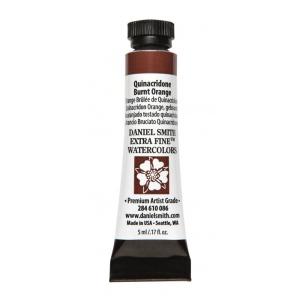 Daniel Smith Extra Fine™ Watercolor 5ml Quinacridone Burnt Orange; Color: Orange; Format: Tube; Size: 5 ml; Type: Watercolor; (model 284610086), price per tube