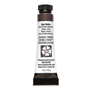 Daniel Smith Extra Fine™ Watercolor 5ml Raw Umber: Brown, Tube, 5 ml, Watercolor, (model 284610097), price per tube