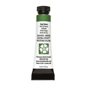 Daniel Smith Extra Fine™ Watercolor 5ml Sap Green: Green, Tube, 5 ml, Watercolor, (model 284610102), price per tube