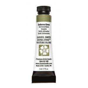 Daniel Smith Extra Fine™ Watercolor 5ml Undersea Green: Green, Tube, 5 ml, Watercolor, (model 284610109), price per tube