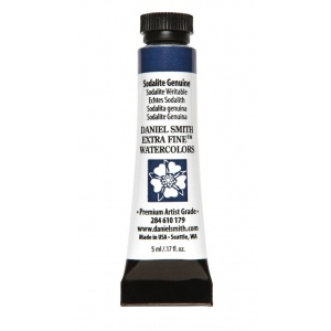 Daniel Smith Extra Fine™ Watercolor 5ml Sodalite Genuine: Blue, Tube, 5 ml, Watercolor, (model 284610179), price per tube