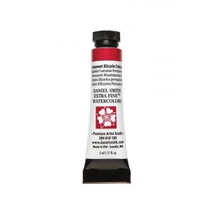 Daniel Smith Extra Fine™ Watercolor 5ml Permanent Alizarin Crimson; Color: Red/Pink; Format: Tube; Size: 5 ml; Type: Watercolor; (model 284610185), price per tube
