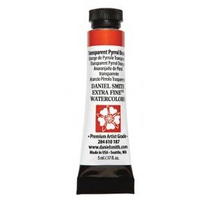 Daniel Smith Extra Fine™ Watercolor 5ml Transparent Pyrrol Orange; Color: Orange; Format: Tube; Size: 5 ml; Type: Watercolor; (model 284610187), price per tube