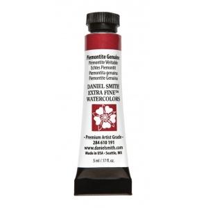 Daniel Smith Extra Fine™ Watercolor 5ml Piemontite Genuine; Color: Red/Pink; Format: Tube; Size: 5 ml; Type: Watercolor; (model 284610191), price per tube