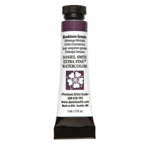 Daniel Smith Extra Fine™ Watercolor 5ml Bloodstone Genuine; Color: Black/Gray; Format: Tube; Size: 5 ml; Type: Watercolor; (model 284610193), price per tube