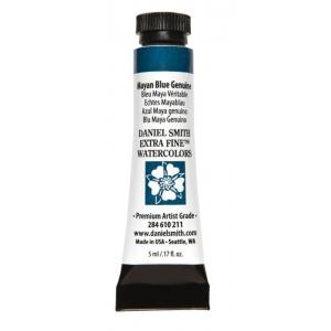 Daniel Smith Extra Fine™ Watercolor 5ml Mayan Blue Genuine; Color: Blue; Format: Tube; Size: 5 ml; Type: Watercolor; (model 284610211), price per tube