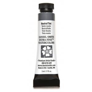 Daniel Smith Extra Fine™ Watercolor 5ml Neutral Tint: Black/Gray, Tube, 5 ml, Watercolor, (model 284610229), price per tube
