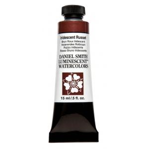 Daniel Smith Extra Fine™ Watercolor 15ml Iridescent Russet; Color: Metallic; Format: Tube; Size: 15 ml; Type: Watercolor; (model 284640020), price per tube