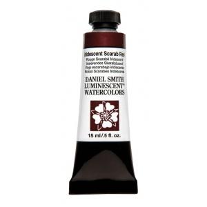 Daniel Smith Extra Fine™ Watercolor 15ml Iridescent Scarab Red: Metallic, Tube, 15 ml, Watercolor, (model 284640021), price per tube