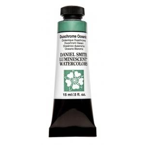 Daniel Smith Extra Fine™ Watercolor 15ml Duochrome Oceanic: Metallic, Tube, 15 ml, Watercolor, (model 284640029), price per tube