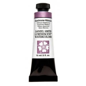 Daniel Smith Extra Fine™ Watercolor 15ml Duochrome Hibiscus; Color: Metallic; Format: Tube; Size: 15 ml; Type: Watercolor; (model 284640031), price per tube