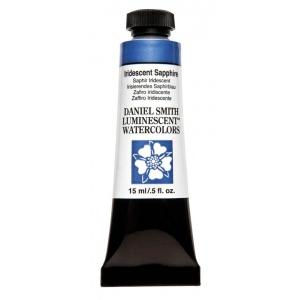 Daniel Smith Extra Fine™ Watercolor 15ml Iridescent Sapphire; Color: Metallic; Format: Tube; Size: 15 ml; Type: Watercolor; (model 284640033), price per tube