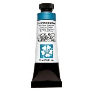 Daniel Smith Extra Fine™ Watercolor 15ml Duochrome Blue Pearl; Color: Metallic; Format: Tube; Size: 15 ml; Type: Watercolor; (model 284640039), price per tube