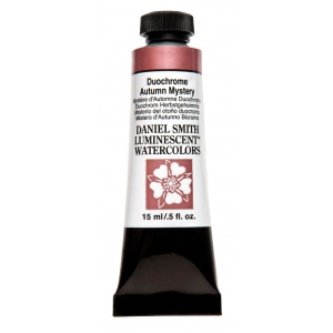 Daniel Smith Extra Fine™ Watercolor 15ml Duochrome Autumn Mystery; Color: Metallic; Format: Tube; Size: 15 ml; Type: Watercolor; (model 284640047), price per tube