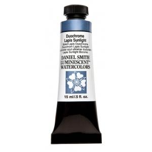 Daniel Smith Extra Fine™ Watercolor 15ml Duochrome Lapis Sunlight; Color: Metallic; Format: Tube; Size: 15 ml; Type: Watercolor; (model 284640049), price per tube