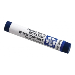 Daniel Smith Extra Fine™ Watercolor Stick 12ml French Ultramarine: Blue, Stick, 12 ml, Watercolor, (model 284670003), price per each