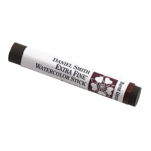 Daniel Smith Extra Fine™ Watercolor Stick 12ml Burnt Umber: Brown, Stick, 12 ml, Watercolor, (model 284670004), price per each