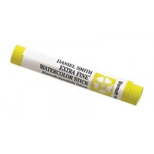Daniel Smith Extra Fine™ Watercolor Stick 12ml Bismuth Vanadate Yellow; Color: Yellow; Format: Stick; Size: 12 ml; Type: Watercolor; (model 284670043), price per each
