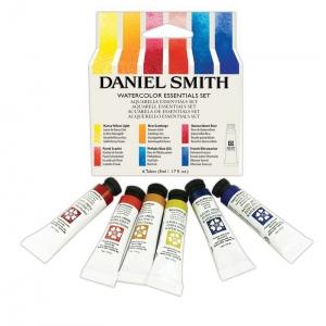 Daniel Smith Essentials Watercolor 5ml Set 6-colors: Multi, 5 ml, Watercolor, (model 285610005), price per each
