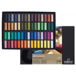Royal Talens Rembrandt® Artists' Pastel 60-Color Half-Stick Set; Color: Multi; Format: Stick; Quantity: 60 Sticks; (model 31823133), price per each