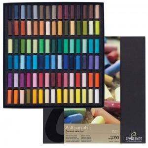 Royal Talens Rembrandt® Artists' Pastel 90-Color Half-Stick Set; Color: Multi; Format: Stick; Quantity: 90 Sticks; (model 31823145), price per each