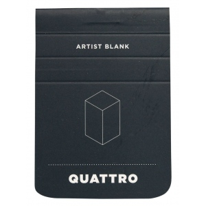 "Hand Book Journal Co.™ Quattro™ Blank Journal 2.5"" x 3.5""; Quantity: 60 Sheets; Size: 2 1/2"" x 3 1/2""; Weight: 24 lb; (model 35509), price per 60 Sheets pad"