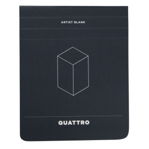 "Hand Book Journal Co.™ Quattro™ Blank Journal 4.5"" x 5.5""; Quantity: 60 Sheets; Size: 4 1/2"" x 5 1/2""; Weight: 24 lb; (model 35511), price per 60 Sheets pad"