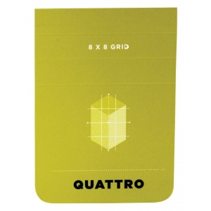 "Hand Book Journal Co.™ Quattro™ Grid Journal 2.5"" x 3.5"": Gridded, 80 Sheets, 2 1/2"" x 3 1/2"", 24 lb, (model 35529), price per 80 Sheets pad"