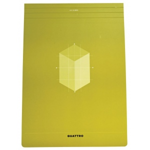 """Hand Book Journal Co.™ Quattro™ Grid Journal 8.5"""" x 12""""; Gridded: Yes; Quantity: 80 Sheets; Size: 8 1/2"""" x 12""""; Weight: 24 lb; (model 35534), price per 80 Sheets pad"""