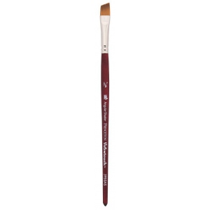 Princeton™ Velvetouch™ Synthetic Mixed Media Angular Shader 025 1/4 Brush: Short Handle, Luxury Synthetic, Angular Shader, 025, Multi, (model 3950AS025), price per each