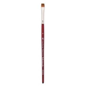 Princeton™ Velvetouch™ Synthetic Mixed Media Chisel Blender 2 Brush: Short Handle, Luxury Synthetic, Chisel Blender, 2, Multi, (model 3950CB2), price per each